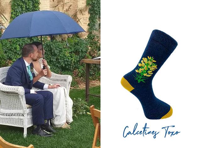 Calcetines para boda