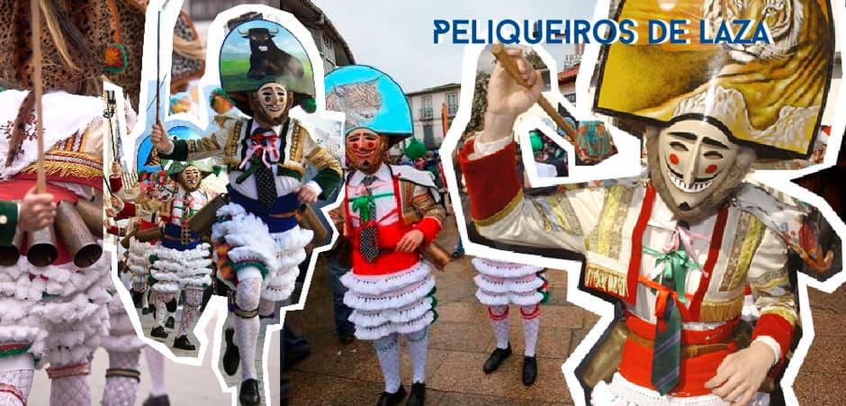 Peliqueiros de Laza (Ourense)